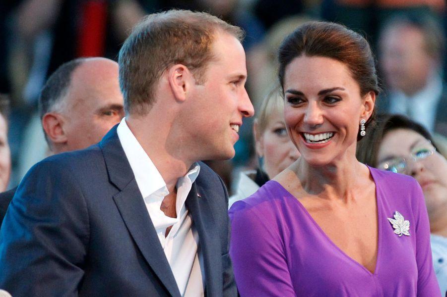 La duchesse Catherine de Cambridge, le 1er juillet 2011