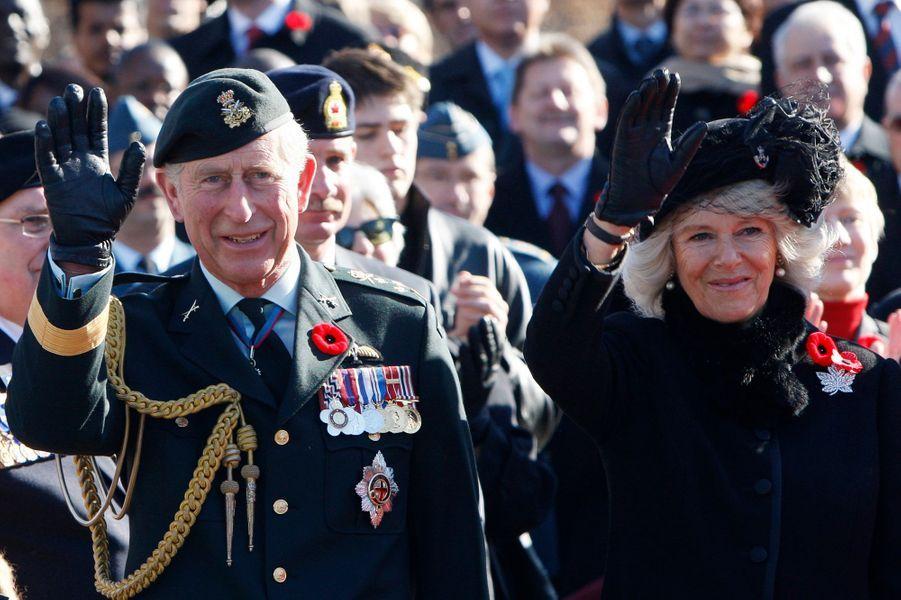 La duchesse de Cornouailles Camilla, le 11 novembre 2009