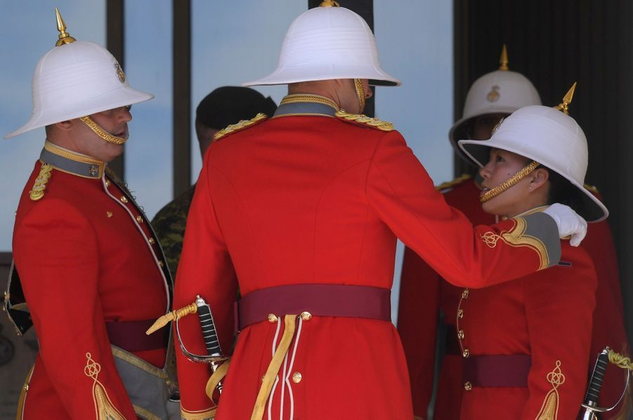 La Capitaine De La Garde De La Reine Elizabeth II, Megan Couto 9