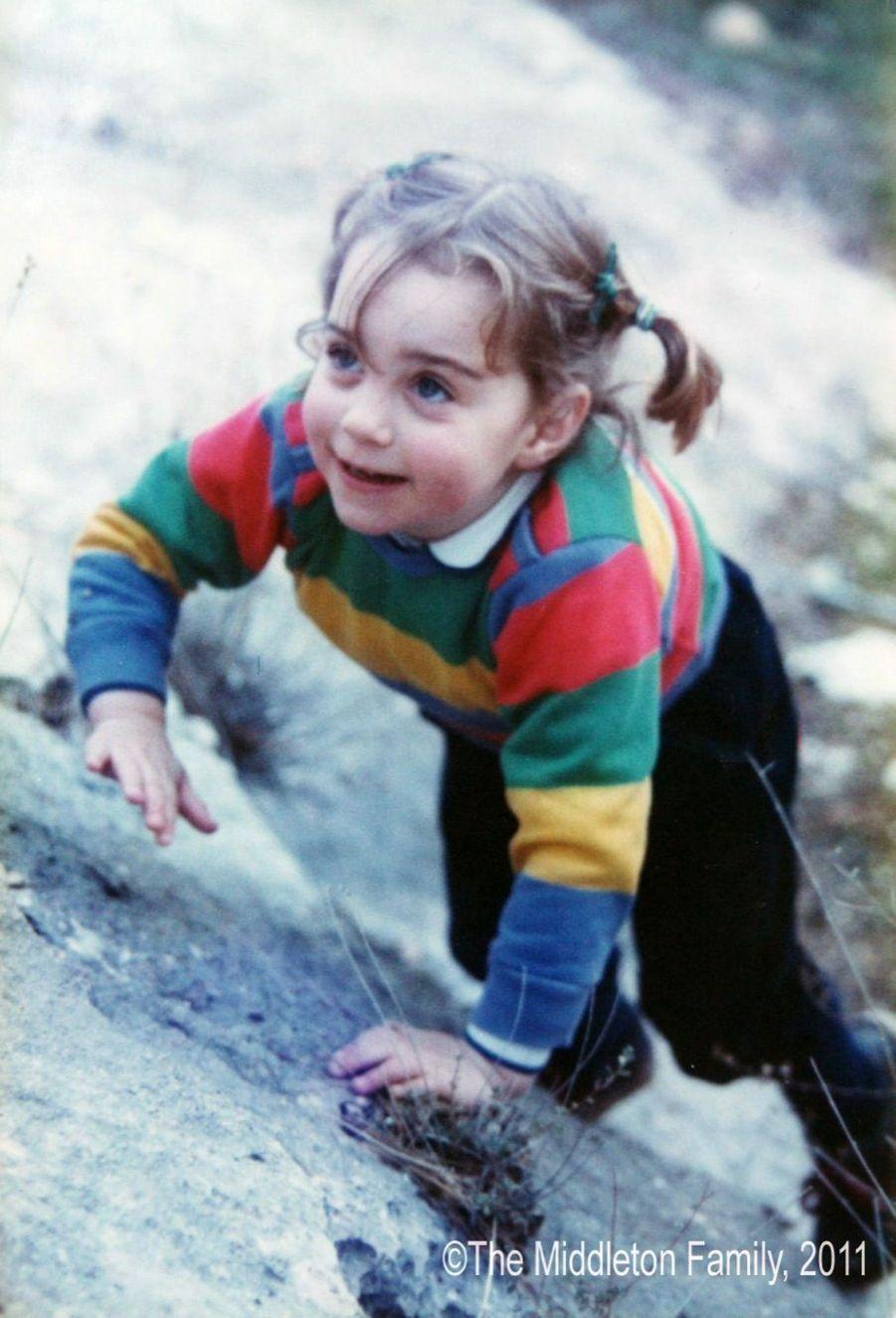 Kate Middleton, 3 ans et demi.