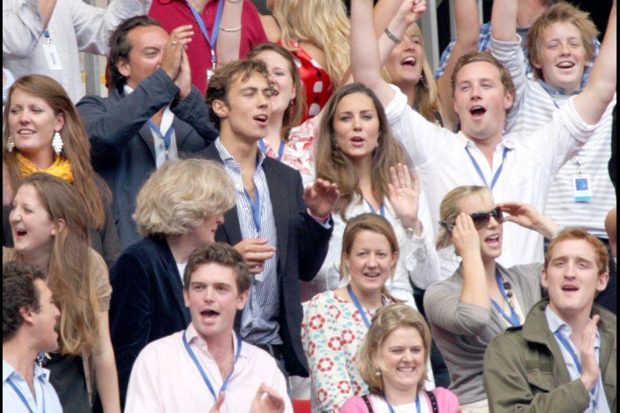 Kate Middleton au concert pour Diana, en aout 2007