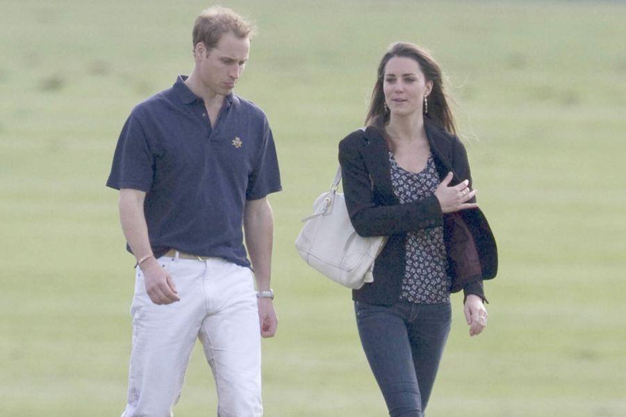 Kate Middleton et le prince William en mai 2009