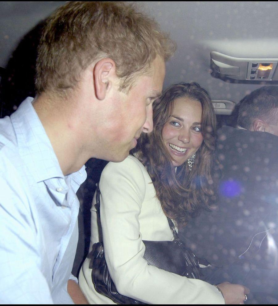 Kate Middleton et le prince William en septembre 2006