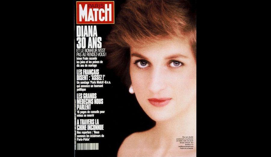 Diana a 30 ans, 4 juillet 1991