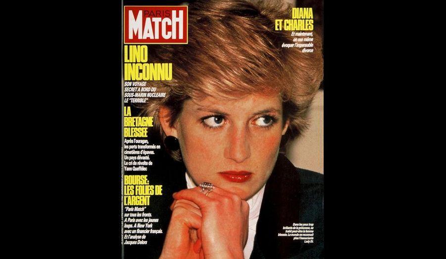 La princesse au regard triste, 13 novembre 1987