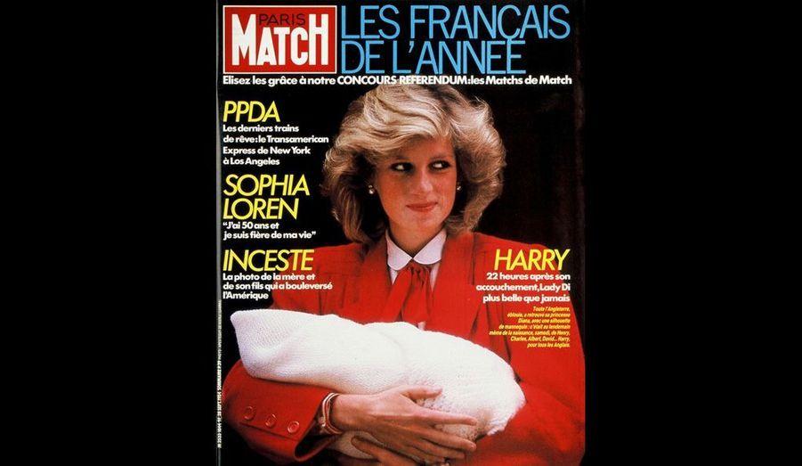 Son second fils s'appelle Harry, 28 septembre 1984