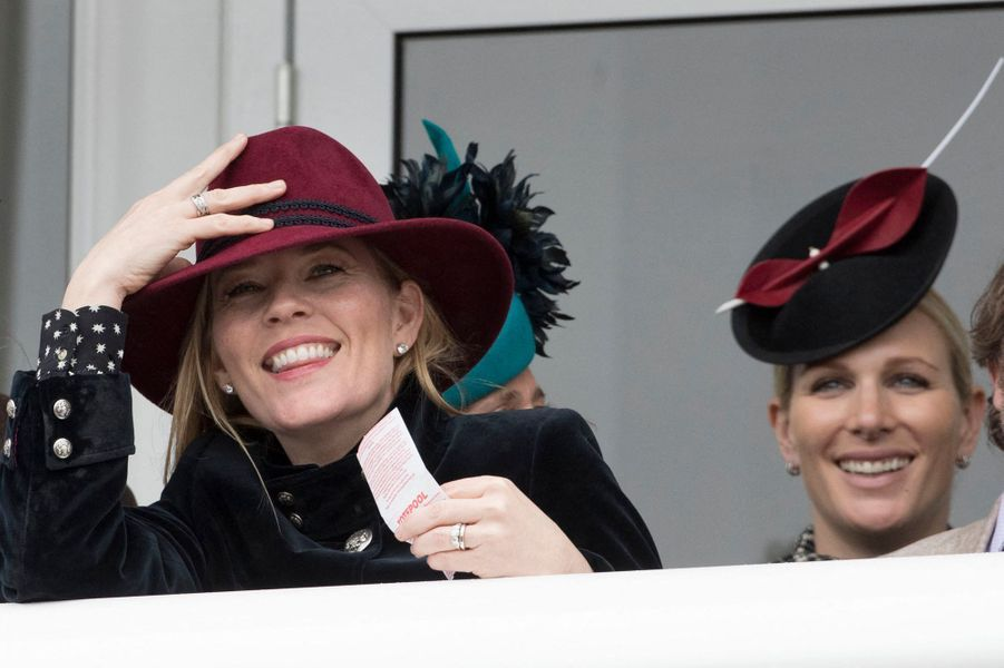 Autumn et Zara Phillips au Cheltenham Festival, le 15 mars 2019