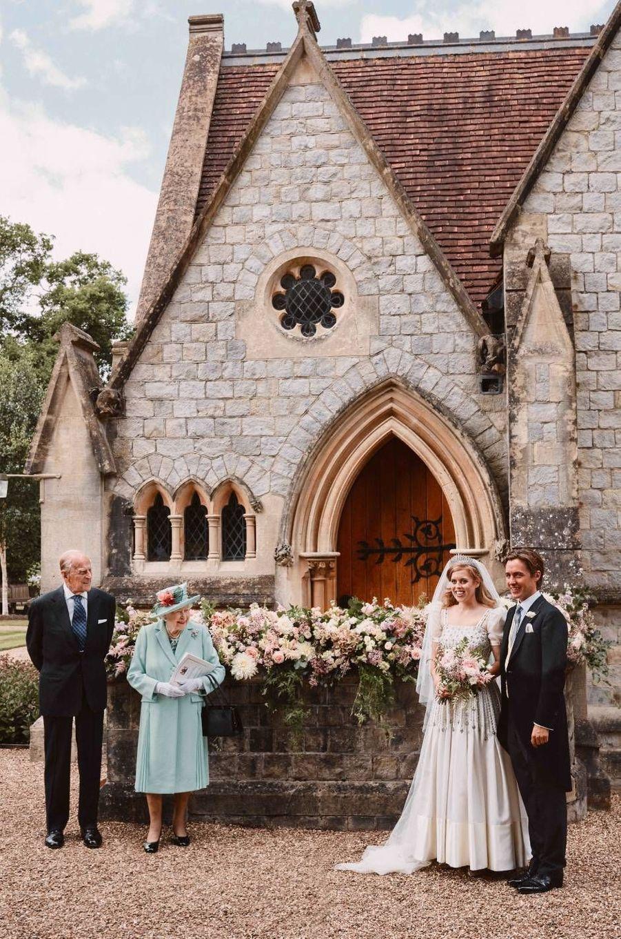 La princesse Beatrice a épousé Edoardo Mapelli Mozzi le 17 juillet 2020.