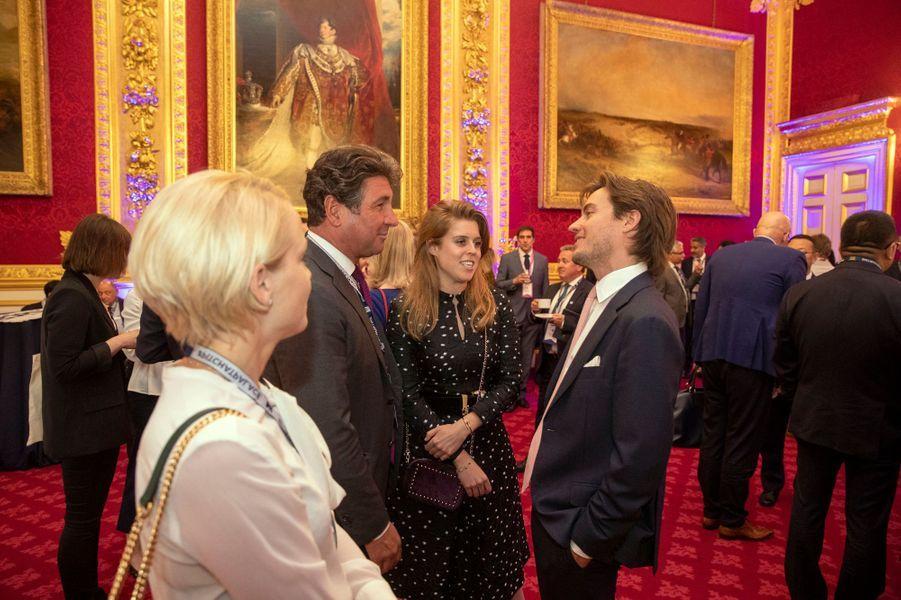 La princesse Beatrice d'York et son boyfriend Edoardo Mapelli Mozzi à Londres, le 12 juin 2019