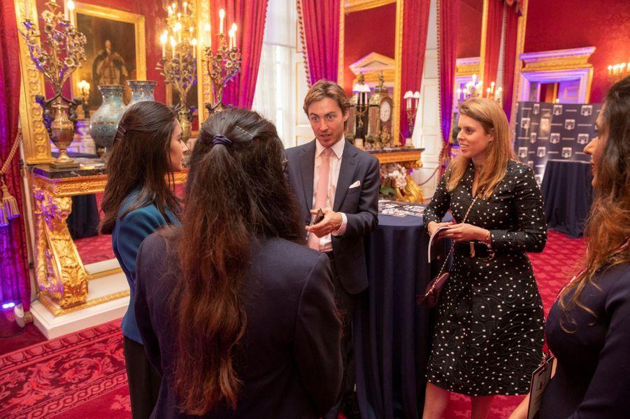 La princesse Beatrice d'York et Edoardo Mapelli Mozzi à Londres, le 12 juin 2019