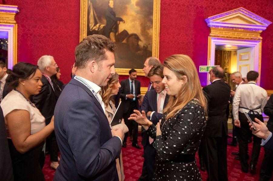 La princesse Beatrice d'York à Londres, le 12 juin 2019