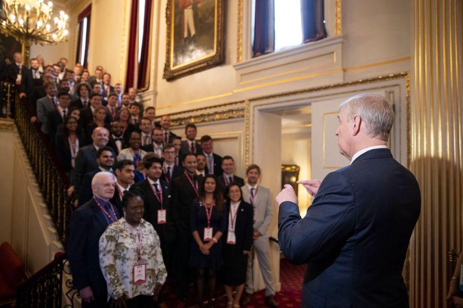 Le prince Andrew à Londres, le 12 juin 2019