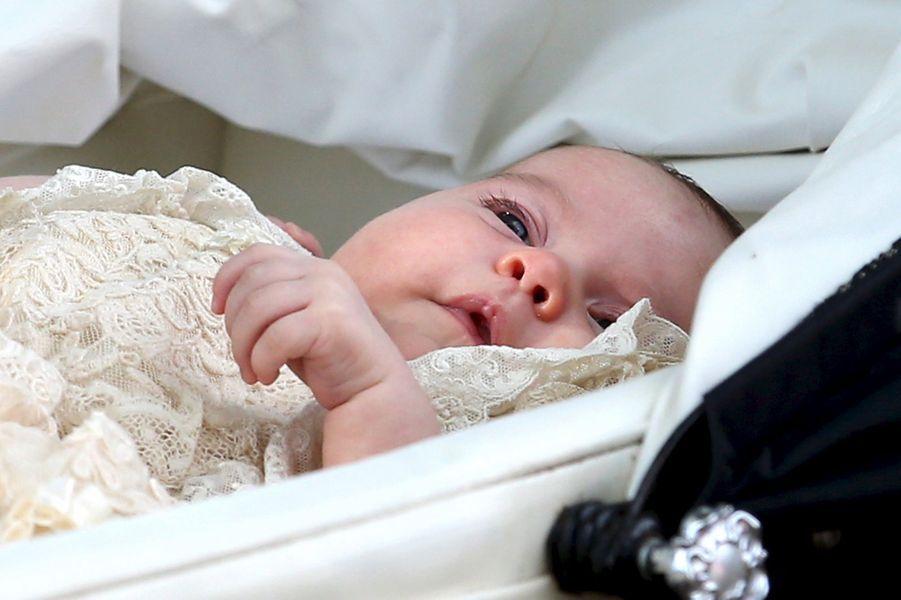La princesse Charlotte le jour de son baptême, le 5 juillet 2015