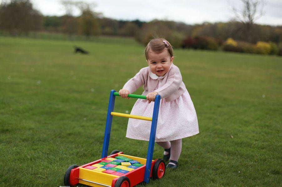 La princesse Charlotte, photo faite par sa maman Kate pour ses 1 an