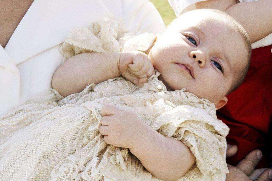 La princesse Charlotte, photo officielle de son baptême