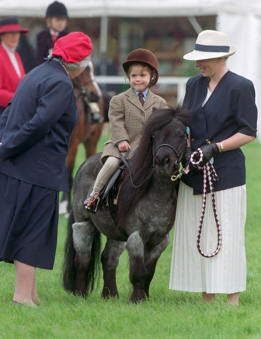 La princesse Eugenie d'York, le 14 mai 1994