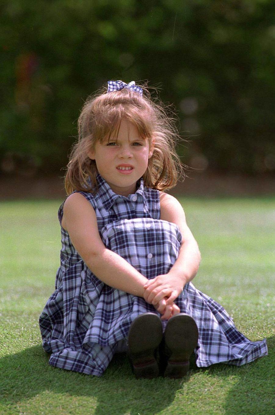 La princesse Eugenie d'York, le 5 août 1994