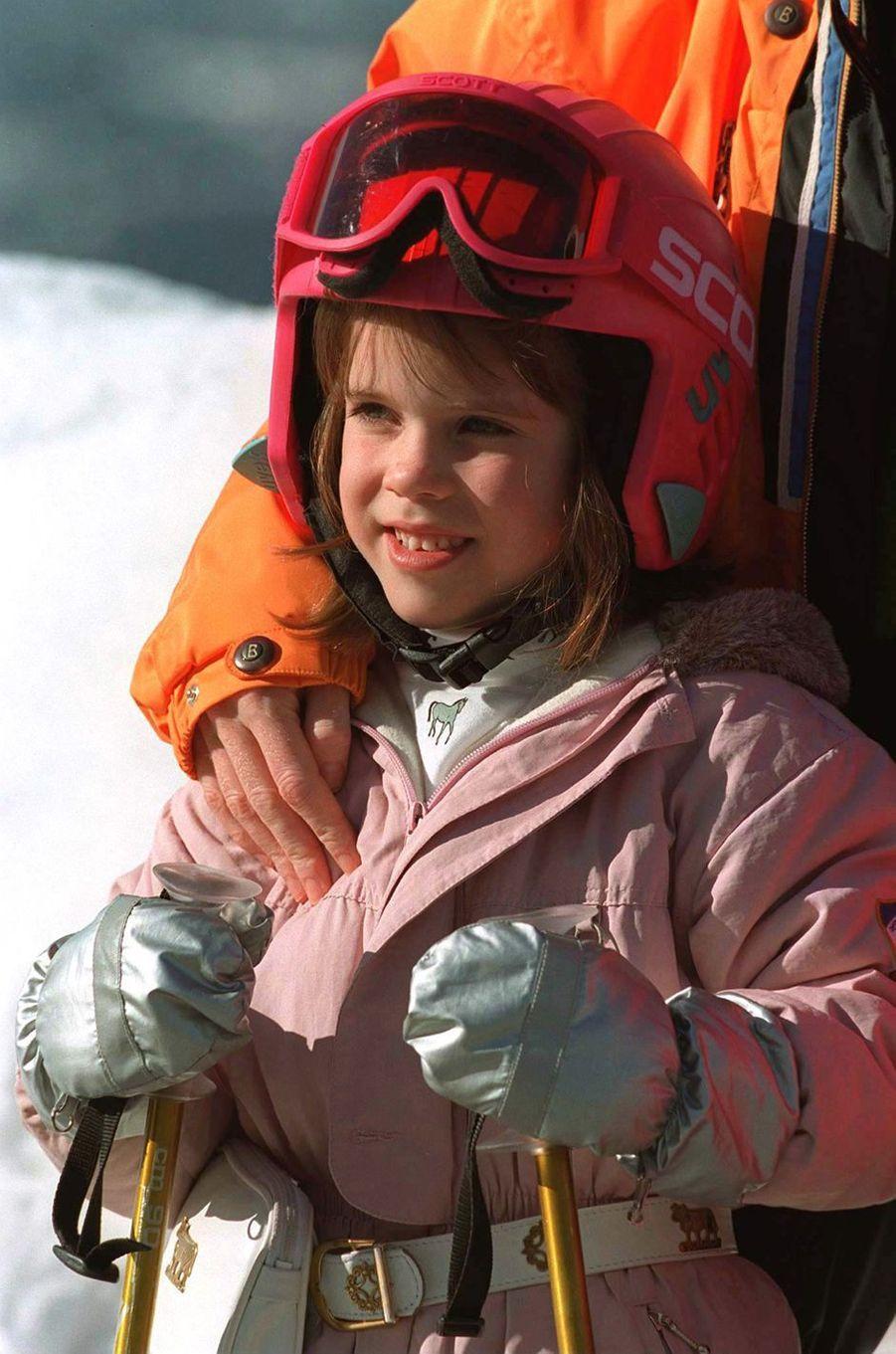 La princesse Eugenie d'York, le 17 février 1997