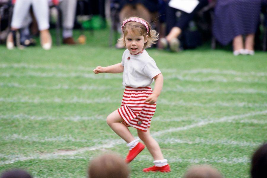 La princesse Eugenie d'York, le 23 juin 1993