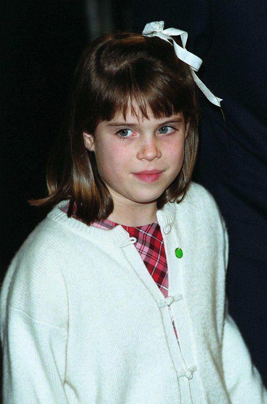 La princesse Eugenie d'York, en décembre 1999