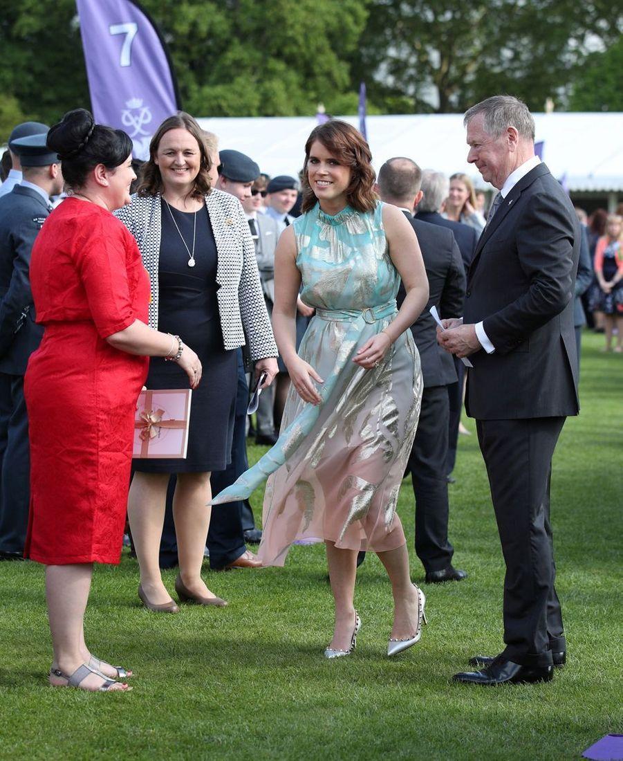 La princesse Eugenie d'York à Londres, le 22 mai 2019