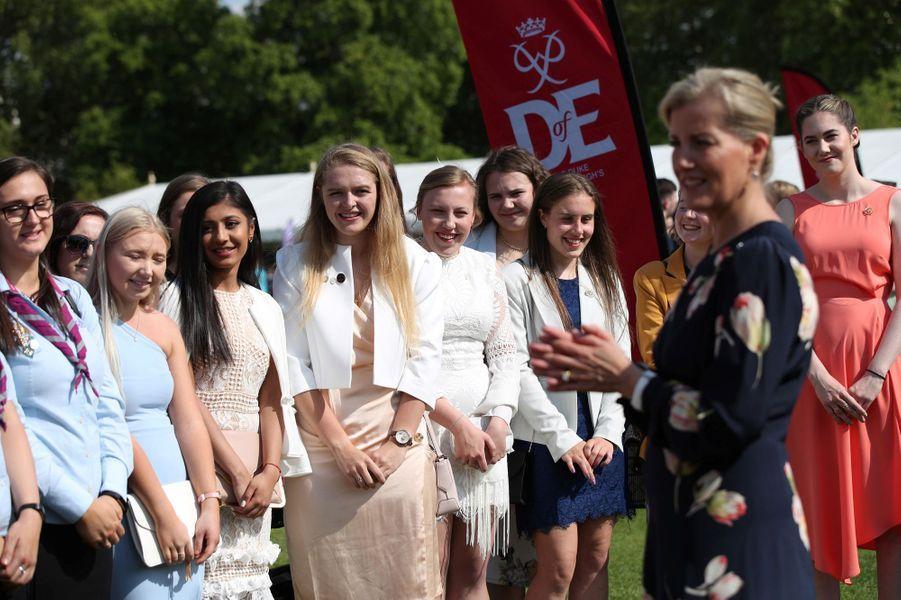 La comtesse Sophie de Wessex à Londres, le 22 mai 2019