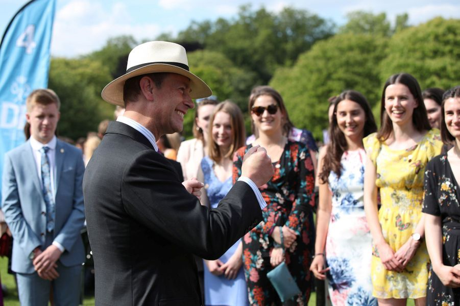 Le prince Edward à Londres, le 22 mai 2019