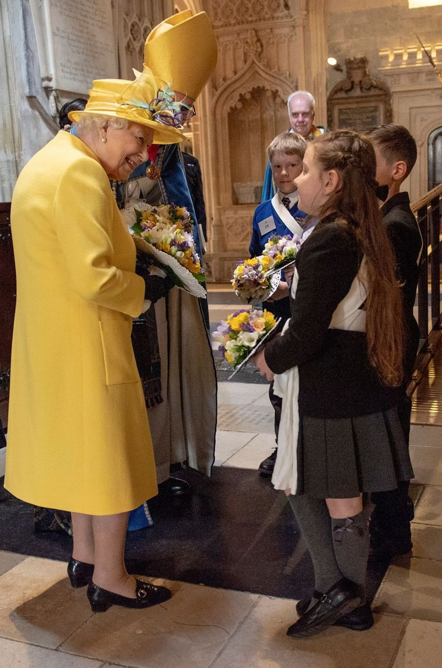 La reine Elizabeth II, le 18 avril 2019 à Windsor