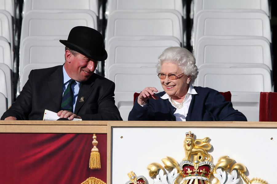 eine Elizabeth II au Royal Windsor Horse Show, le 13 mai 2015