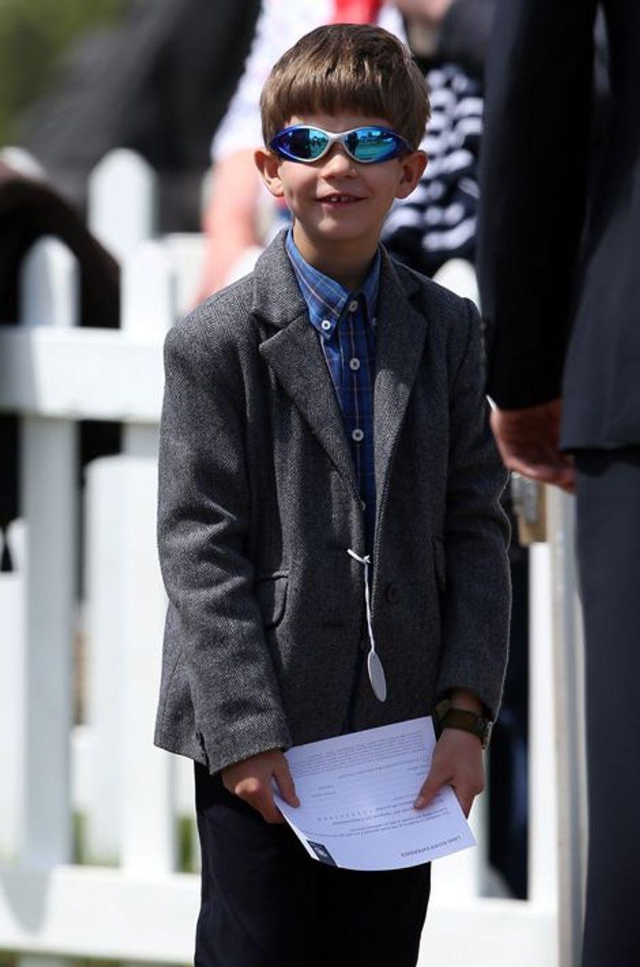 James de Wessex au Royal Windsor Horse Show, le 16 mai 2015