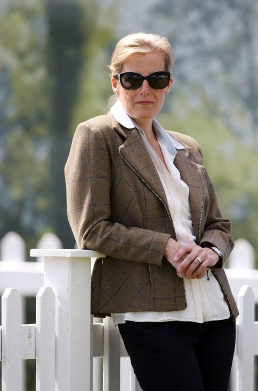 La comtesse Sophie de Wessex au Royal Windsor Horse Show, le 16 mai 2015