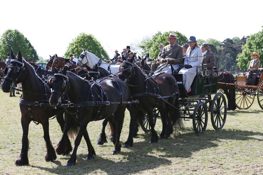 Le prince Philip au Royal Windsor Horse Show, le 17 mai 2015