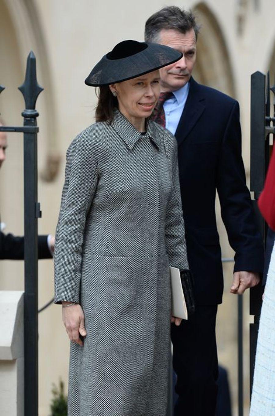 Sarah et Daniel Chatto à Windsor, le 5 avril 2015