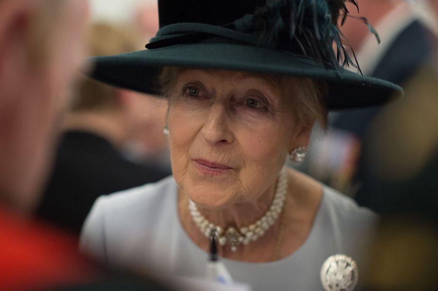 La princesse Alexandra de Kent à la Maison du Canada, le 19 avril 2015