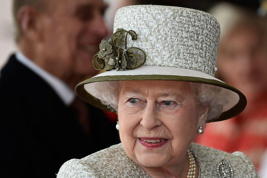 La reine Elisabeth II à Londres, le 3 mars 2015