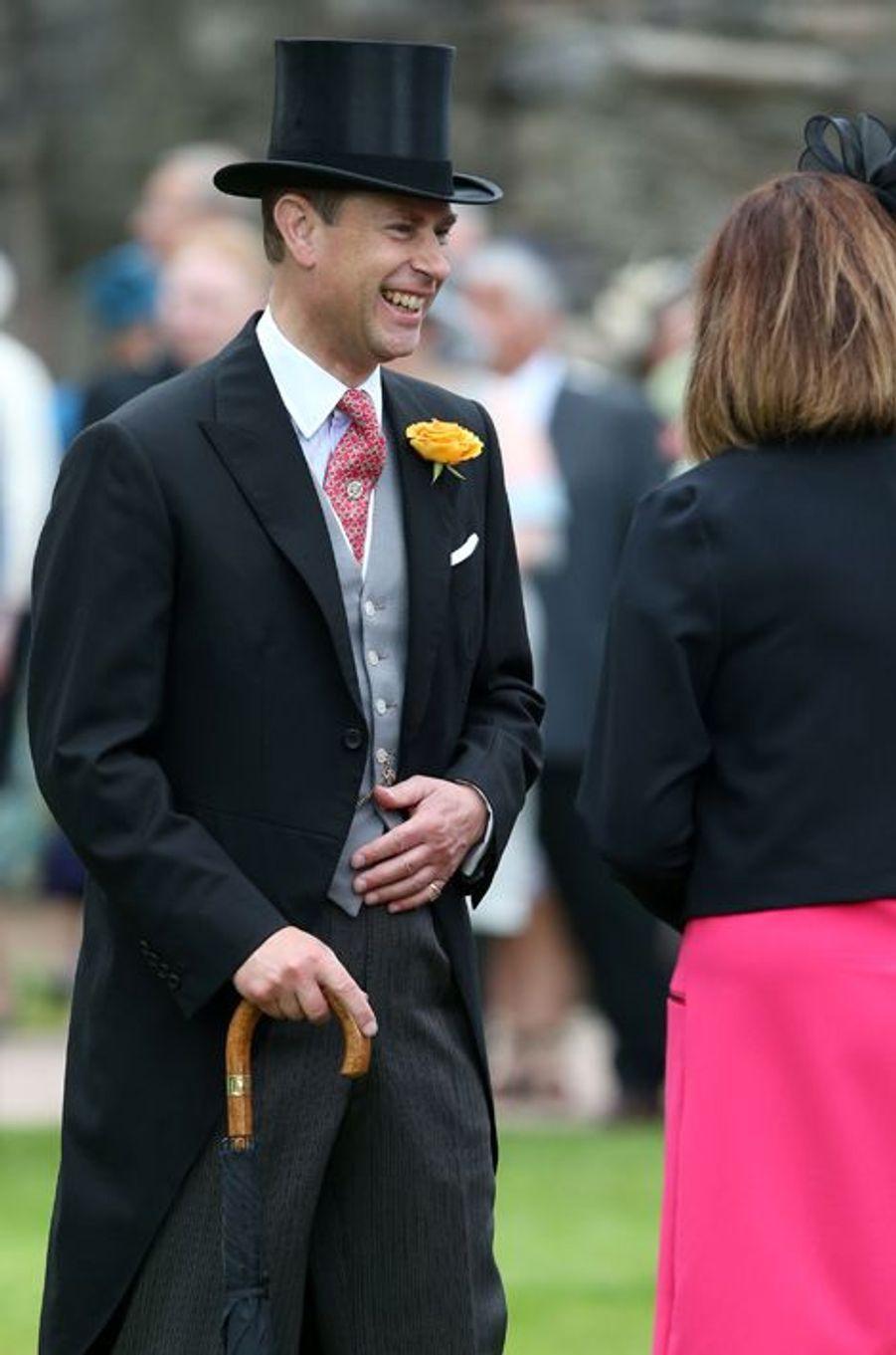 Le prince Edward au palais de Holyrood à Edimbourg, le 1er juillet 2015