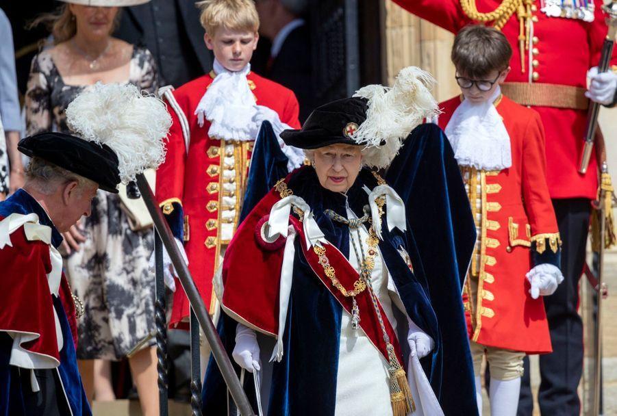 La Famille Royale Fête Les 700 De L'Ordre De La Jarretière ( 1
