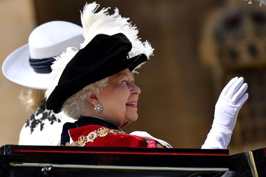 La Famille Royale Fête Les 700 De L'Ordre De La Jarretière ( 11