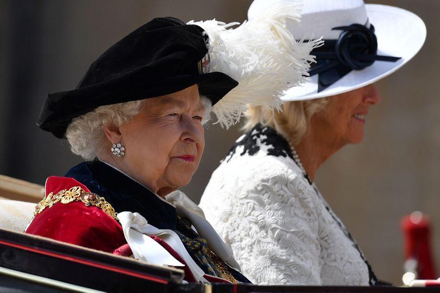 La Famille Royale Fête Les 700 De L'Ordre De La Jarretière ( 12