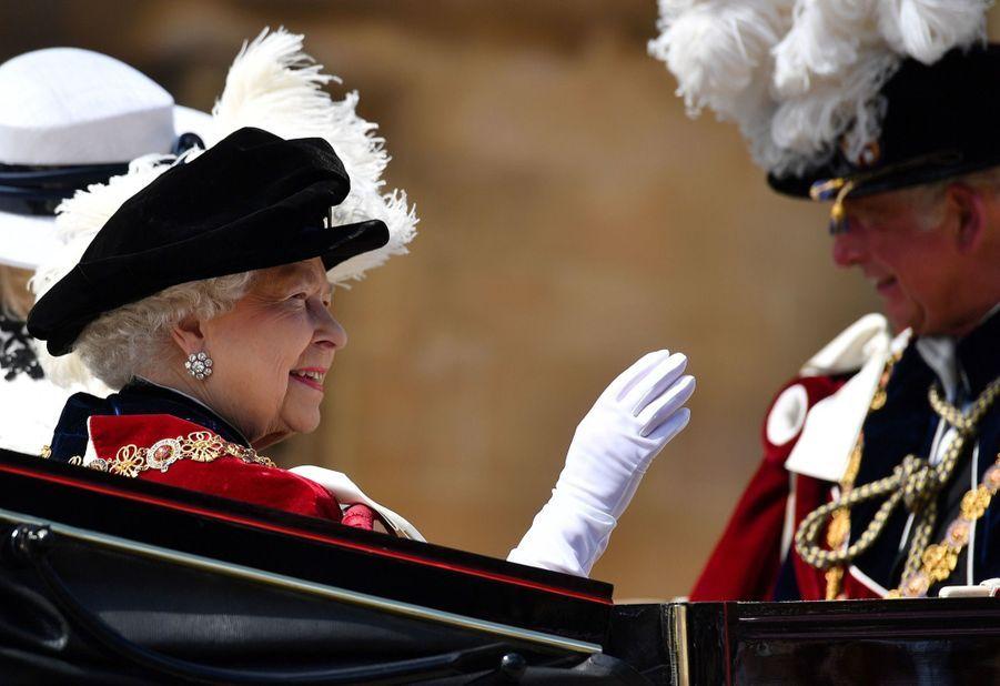 La Famille Royale Fête Les 700 De L'Ordre De La Jarretière ( 13