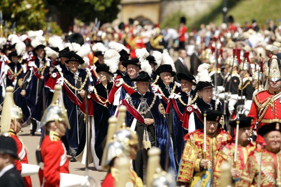La Famille Royale Fête Les 700 De L'Ordre De La Jarretière ( 15
