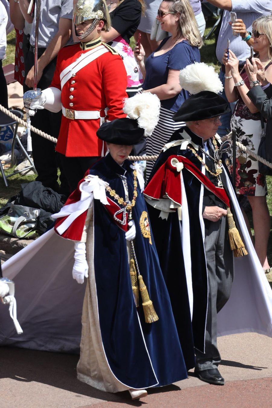 La Famille Royale Fête Les 700 De L'Ordre De La Jarretière ( 16
