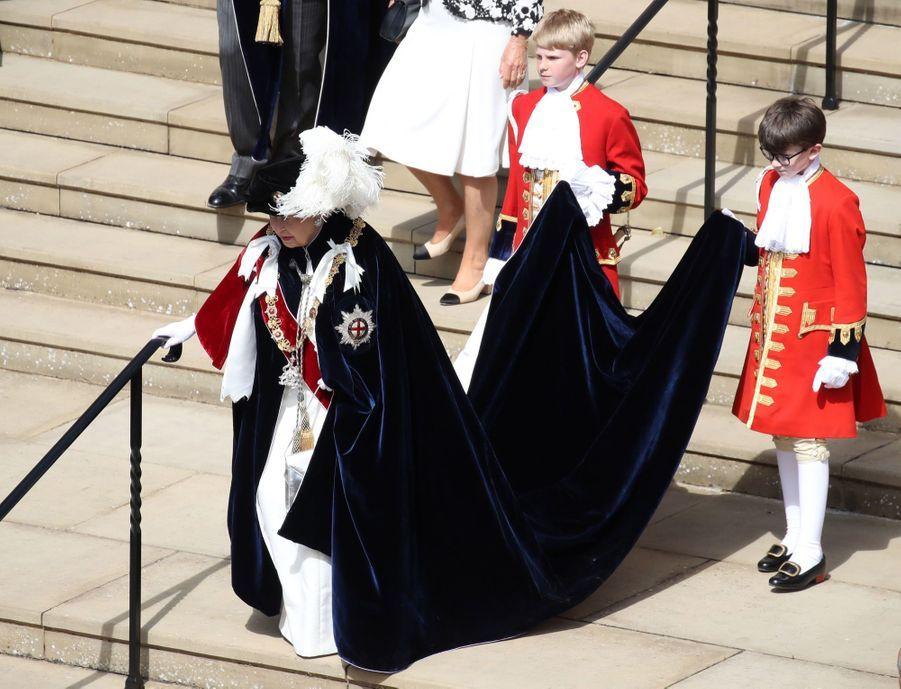 La Famille Royale Fête Les 700 De L'Ordre De La Jarretière ( 17