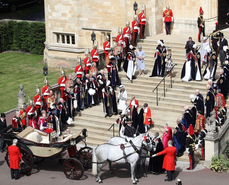 La Famille Royale Fête Les 700 De L'Ordre De La Jarretière ( 18
