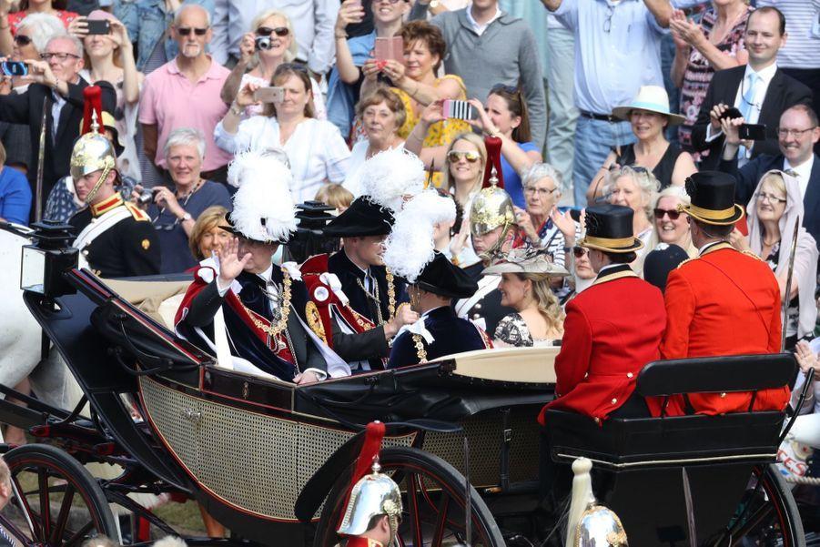 La Famille Royale Fête Les 700 De L'Ordre De La Jarretière ( 19