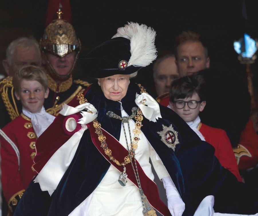 La Famille Royale Fête Les 700 De L'Ordre De La Jarretière ( 2