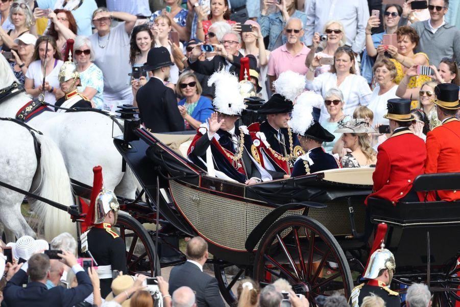 La Famille Royale Fête Les 700 De L'Ordre De La Jarretière ( 20