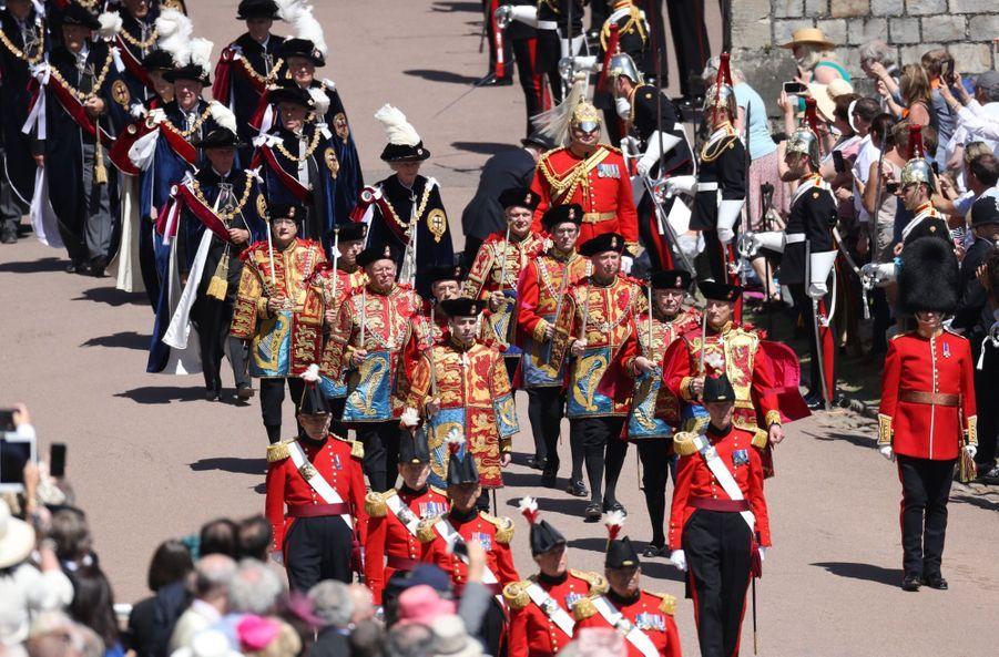 La Famille Royale Fête Les 700 De L'Ordre De La Jarretière ( 21