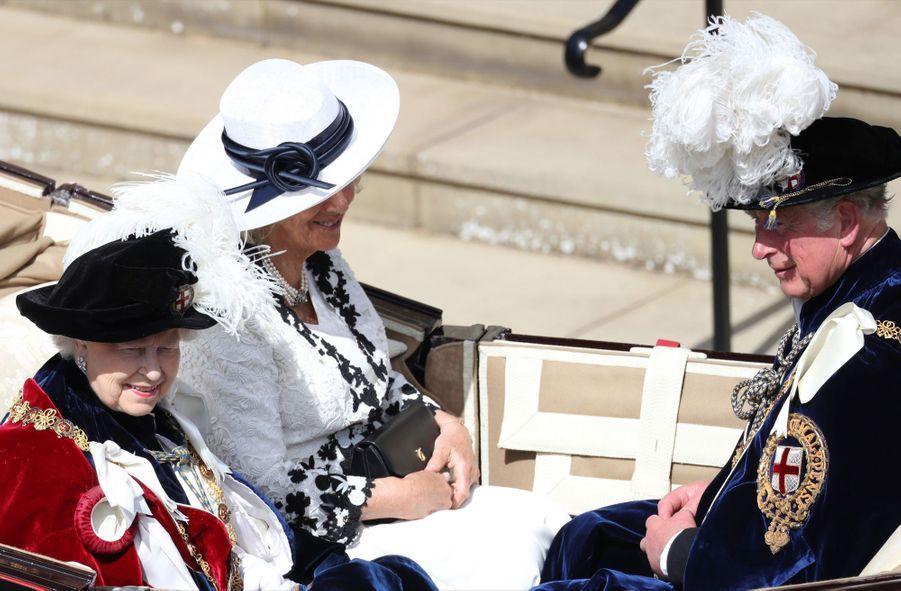 La Famille Royale Fête Les 700 De L'Ordre De La Jarretière ( 23