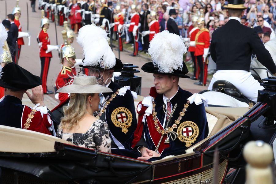 La Famille Royale Fête Les 700 De L'Ordre De La Jarretière ( 7